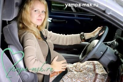Беременная за рулем, как безопасно ездить беременным