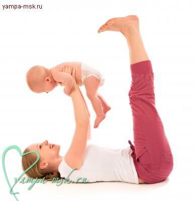 Фитнес после родов, как похудеть после родов, упражнения после родов. гимнастика после родов