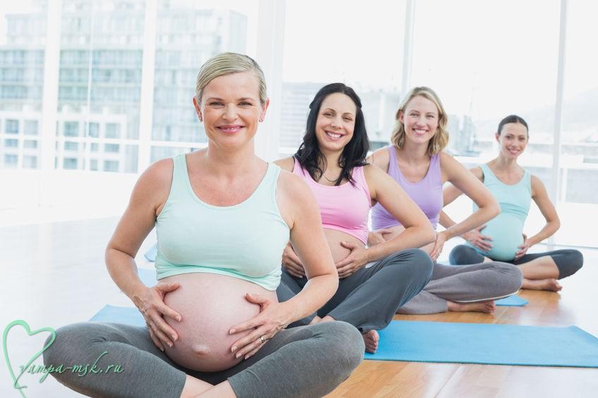 Гимнастика для беременных Москва