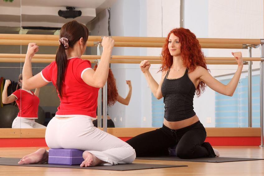 Гимнастика для беременных в школе для беременных ЯМПА