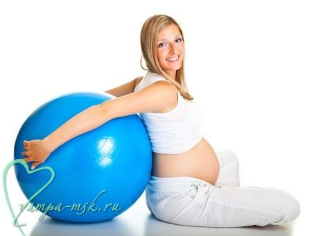 Гимнастика для беременных, курсы для беременных